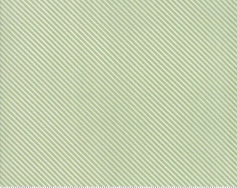 Garden Variety (5075 14)  Grass Candy Stripe by Lella Boutique