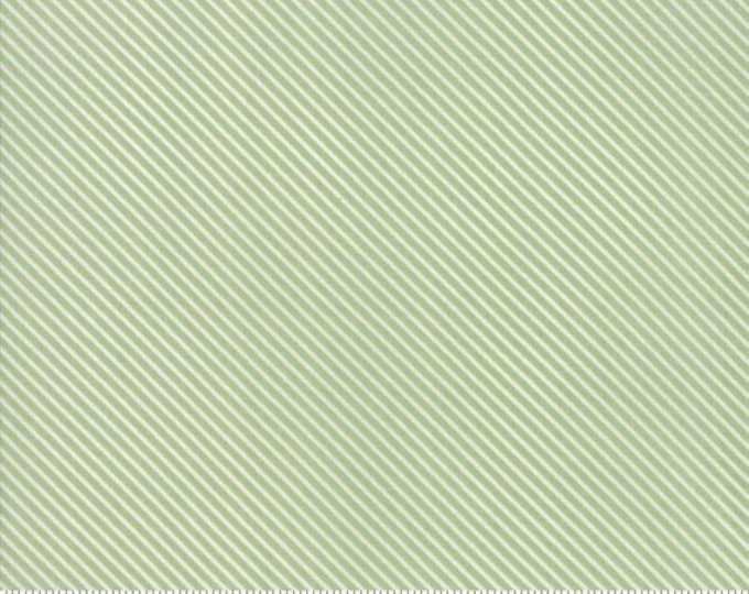 Garden Variety (5075 14)  Grass Candy Stripe by Lella Boutique