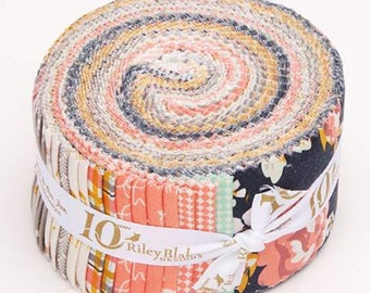 Golden Days Rolie Polie by Fancy Pants Design for Riley Blake Designs - Jelly Roll - Precut Fabric (RP-8600-40)