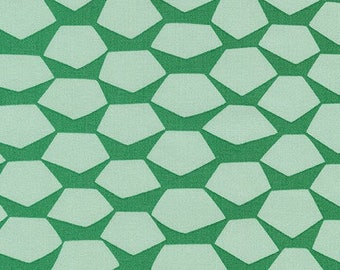 Terrarium SALE (17283-34) Sage Giant Pineapple by Elizabeth Hartman - CLEARANCE FABRIC