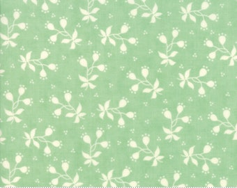 Scarlet and Sage Pond Berries by Fig Tree & Co. for Moda (20366 18) - Cut Options Available