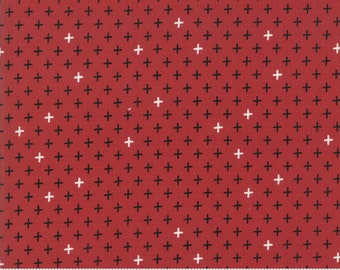 Merry Starts Here - Twinkle - Red - Sweetwater - Moda Fabrics - Christmas Fabric - (5736 11) - Sweetwater Merry Starts Here