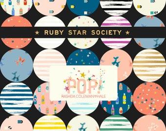 Half Yard Bundle - Pop / Zip by Rashida Coleman Hale for Ruby Star Society - Modern Fabric Bundle - Moda Fabrics - PREORDER
