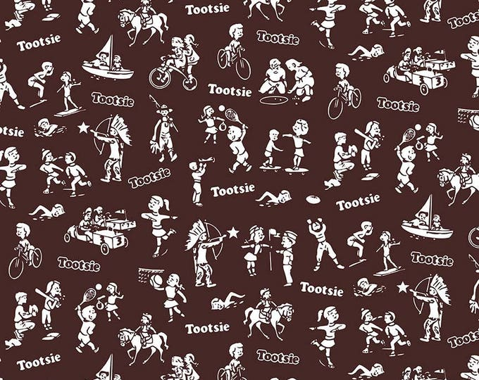 It's Tootsie Roll Time - Tootsie Wrapper C6814-Brown