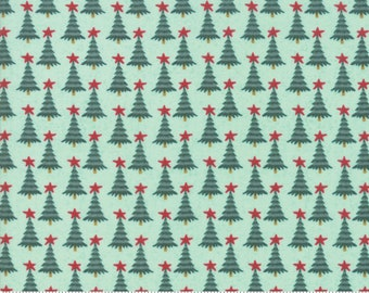 Kringle Claus - Pine Valley - Frosty - (30596 18) - BasicGrey Kringle Claus for Moda Fabrics -  Cotton Quilting Fabric - Kringle Klaus