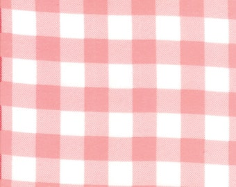 Buffalo Check Pink Flannel for Moda Fabrics (8656 38F) - Flannel Gingham Fabric - Cut Options Available