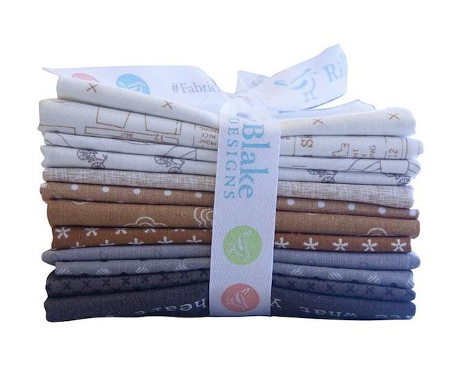 Lori Holt Neutral Colors Fat Quarter Bundle - (12 pcs) by Lori Holt of Bee in My Bonnet