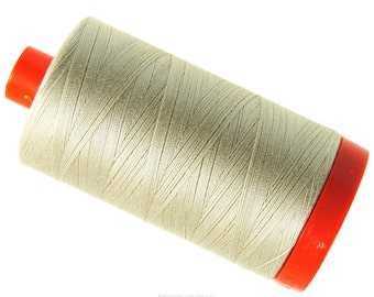 MK50 2310 - Light Beige - Aurifil Cotton Thread Large Spool (1422 yds)