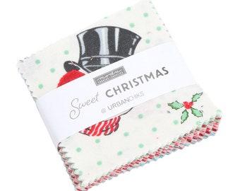 Mini Charm Pack of Sweet Christmas (31150MC) by Urban Chiks