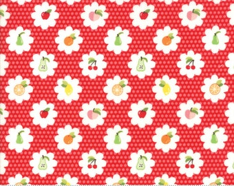 Orchard Grove - Cherry - April Rosenthal Orchard for Moda Fabrics (24072 12)