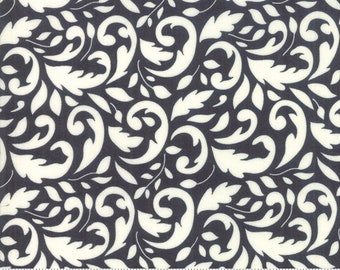 Fig Tree All Hallows Eve Midnight Flourish- (20351 13)  by Fig Tree & Co. for Moda - Halloween Fabric - Cotton Quilting Fabric