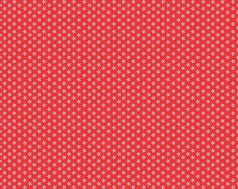 Bee Basics By Lori Holt Tiny Daisy Red (C6403-Red)
