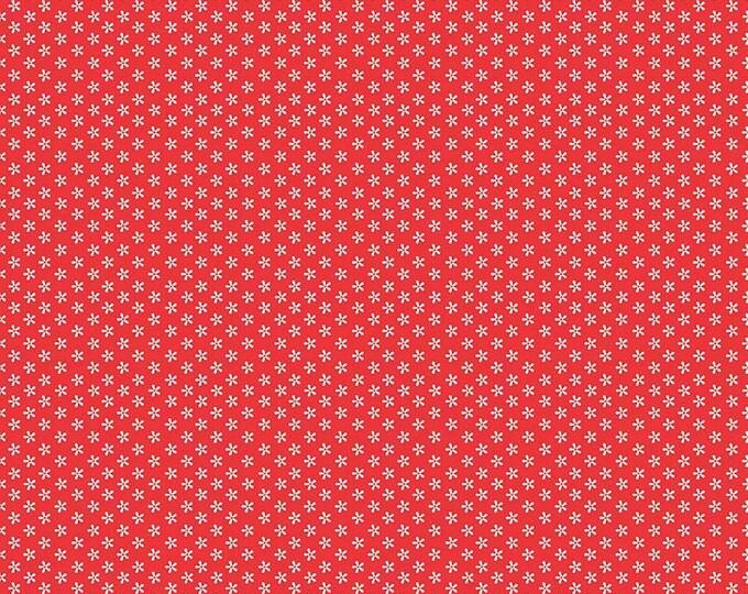 Bee Basics By Lori Holt Tiny Daisy Red (C6403-Red)