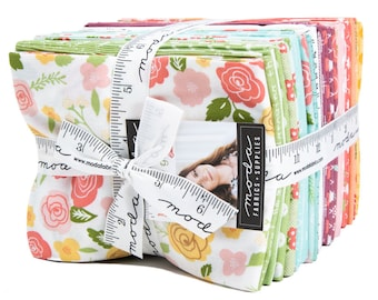 Lollipop Garden Fat Quarter Bundle by Lella Boutique - (32 FQ's) - 5080AB - Lella Boutique Lollipop Garden