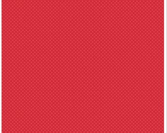 Kisses Tone on Tone Red SALE (C210) - Riley Blake Designs - Red Basic Fabric - Tone on Tone Fabric - Kisses Print
