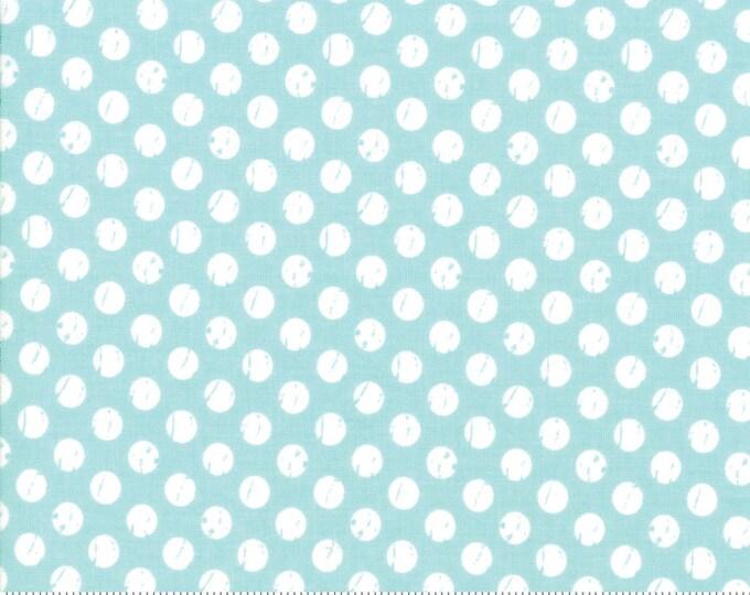 Lollipop Garden Whitewashed Dots - Sky - Lollipop Garden by Lella Boutique - (5085 15)