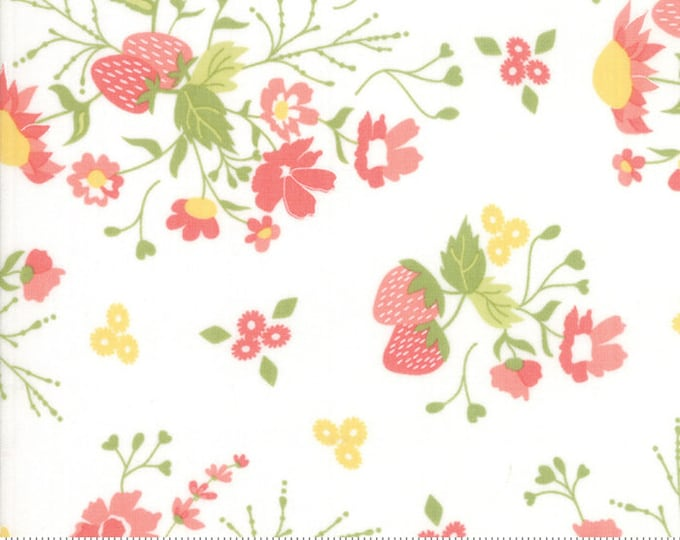Strawberry Jam Cloud Strawberry Garden by Corey Yoder (Little Miss Shabby) for Moda (29060 11)