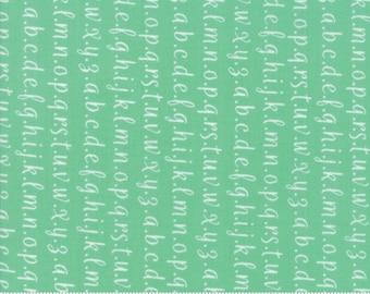 Strawberry Jam Rainy Day Alphabet by Corey Yoder (Little Miss Shabby) for Moda (29065 28)