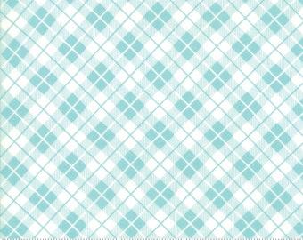 Orchard Picnic Basket - Sky Blue - April Rosenthal Orchard for Moda Fabrics (24075 15)