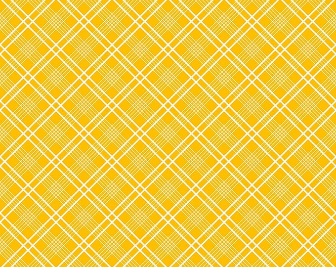 Gingham  Girls, By Amy Smart  Plaid Yellow C5904-Yellow
