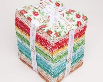 Granny Chic Fat Quarter Bundle by Lori Holt fabric (Bee in My Bonnet) - Fat Quarter Bundle - (33 fat quarters) - FQ-8510-33