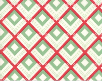 Sweet Christmas - Plaid Scarf - Spearmint (31153 11) Urban Chiks Sweet Christmas for Moda - Quilting Fabric - Cut Options Available