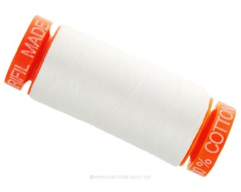 MK50 2021 - Aurifil Cotton Thread - Natural White