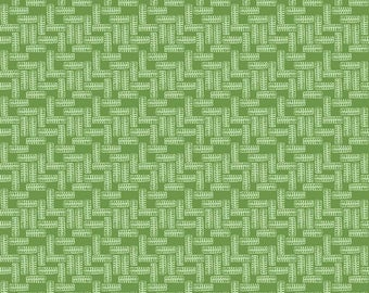 J Is For Jeep - Tires Green (C6465) - Green Tire Print Fabric - Jeep Fabric - SALE - Riley Blake Designs