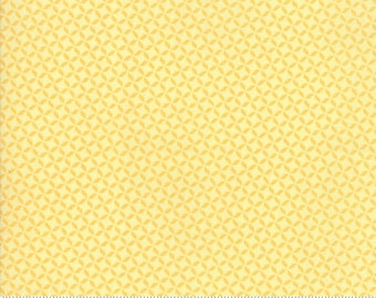 Sunnyside Up Friendly Lighthearted (Yellow) by Corey Yoder (Little Miss Shabby) for Moda (29056 22)