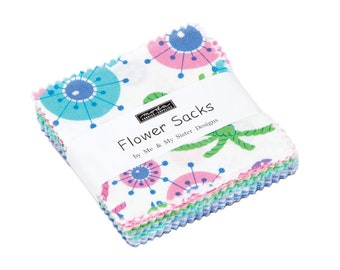 IN STOCK: Flower Sacks Mini Charm Pack by Me and My Sister -  (22350MC)