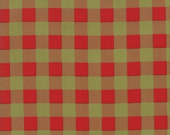 Overnight Delivery (5707 22) Red Green Buffalo Plaid by Sweetwater