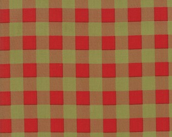 Overnight Delivery Red Green Buffalo Plaid by Sweetwater SALE  (5707 22) Buffalo Plaid - Sweetwater Overnight Delivery - Christmas Fabric