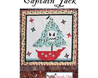Captain Jack Quilt Pattern by Kelli Fannin Quilt Designs KFQP