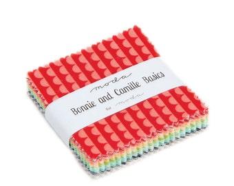 Basics by Bonnie & Camille - Mini Charm Pack - (55023MC)  - Moda Precut Fabric - Mini Charm