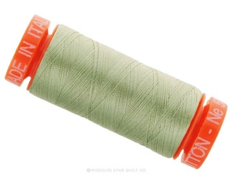 MK50 2902 - Aurifil  Light Laurel Green Cotton Thread