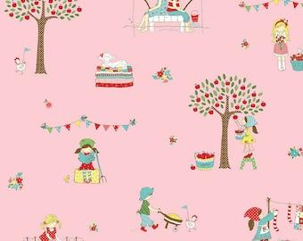 Simple Goodness by Tasha Noel Main Print in Pink (C7930-PINK)