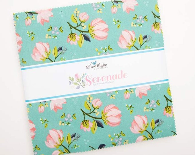 Serenade Layer Cake (42 pieces) by Cyndi Walker for Riley Blake Designs