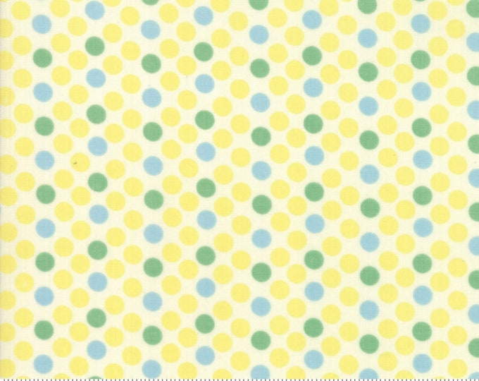 Cheeky Buttercup and Sweet Cream Dottie by Urban Chiks for Moda Fabrics (31142 21)