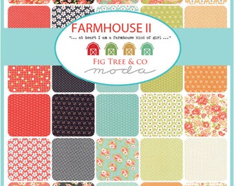 Farmhouse II Half Yard bundle by Fig Tree and Co. -  Complete set
