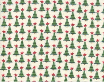 Kringle Claus - Pine Valley - Snow - (30596 11) - BasicGrey Kringle Claus for Moda Fabrics -  Cotton Quilting Fabric - Kringle Klaus