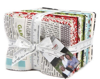 Hometown Christmas Edition (5660AB) by Sweetwater Fat Quarter Bundle - 37 FQ's