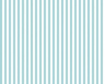 Riley Blake Designs, 1/4 Inch Stripe in Aqua (C555)