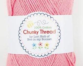 Lori Holt - 50 g Skein Chunky Thread  - Peony