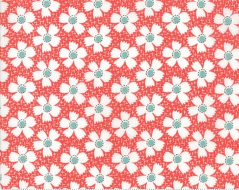 Farmhouse II (20323 11) Tomato Daisies Gingham by Fig Tree & Co.