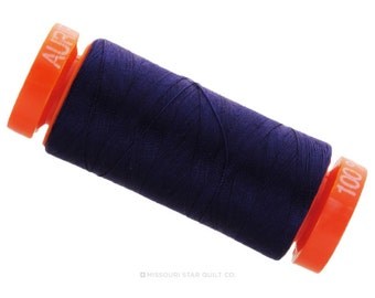 MK50 2745 - Aurifil Midnight Cotton Thread