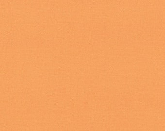 Amelia Apricot (9900 162) - Bella Solids fabric Moda Basics