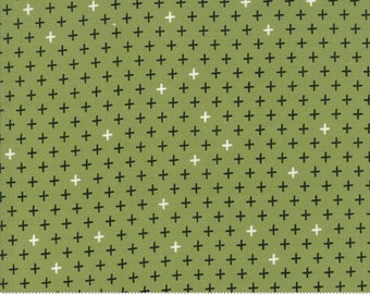 Merry Starts Here - Twinkle - Green  - Sweetwater - Moda Fabrics - Christmas Fabric - (5736 12) - Sweetwater Merry Starts Here