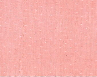 Bonnie and Camille Wovens Pink Dot for Moda Fabrics  (12405 24) - Pink Polka Dot Fabric - Woven Fabric