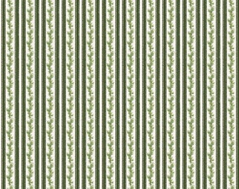 Anne of Green Gables Christmas - Stripe Green (C6494-Green)