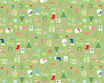 Cozy Christmas Main Print (C5360-Green)